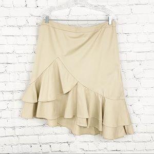 NWT Banana Republic Asymmetrical Skirt. Size 12P